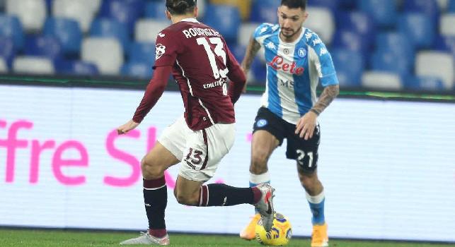 Torino, buone notizie per Juric: nulla di grave per Ricardo Rodriguez, può recuperare per il Napoli
