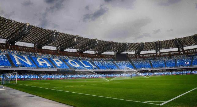 L\'assessore Cosenza: Tifosi al Maradona, valutiamo una standing zone senza numerazione. Dialogo in corso
