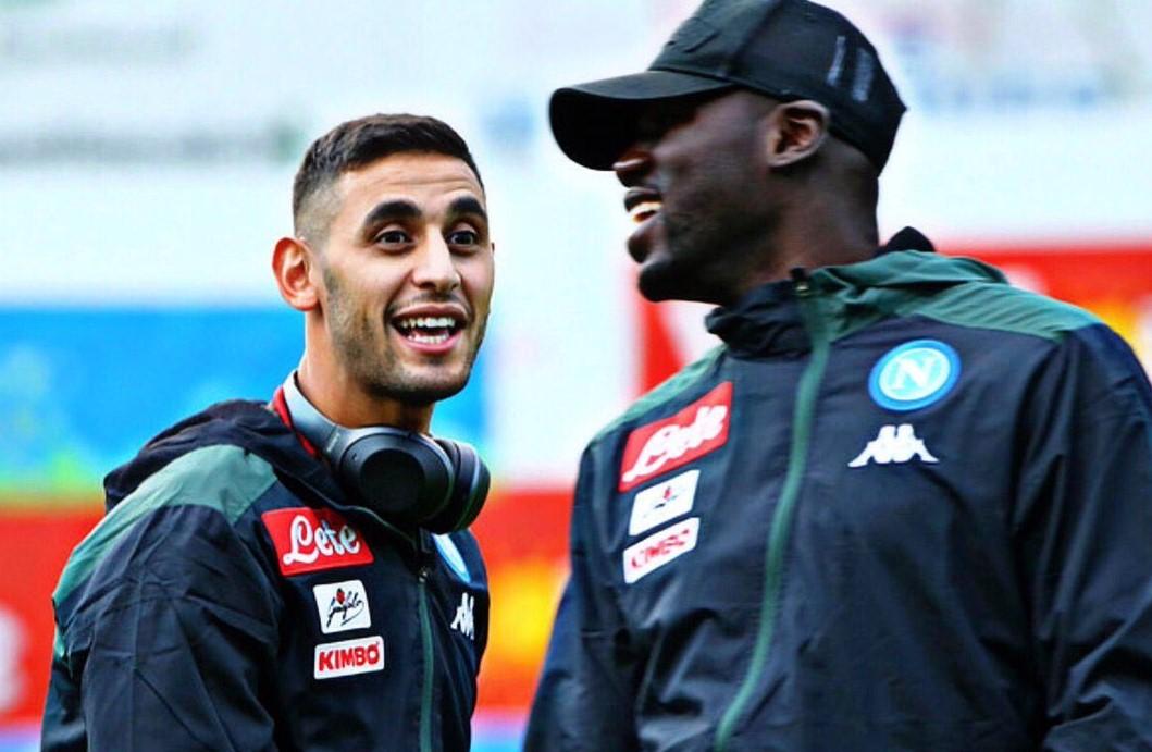 Faouzi Ghoulam e Kalidou Koulibaly