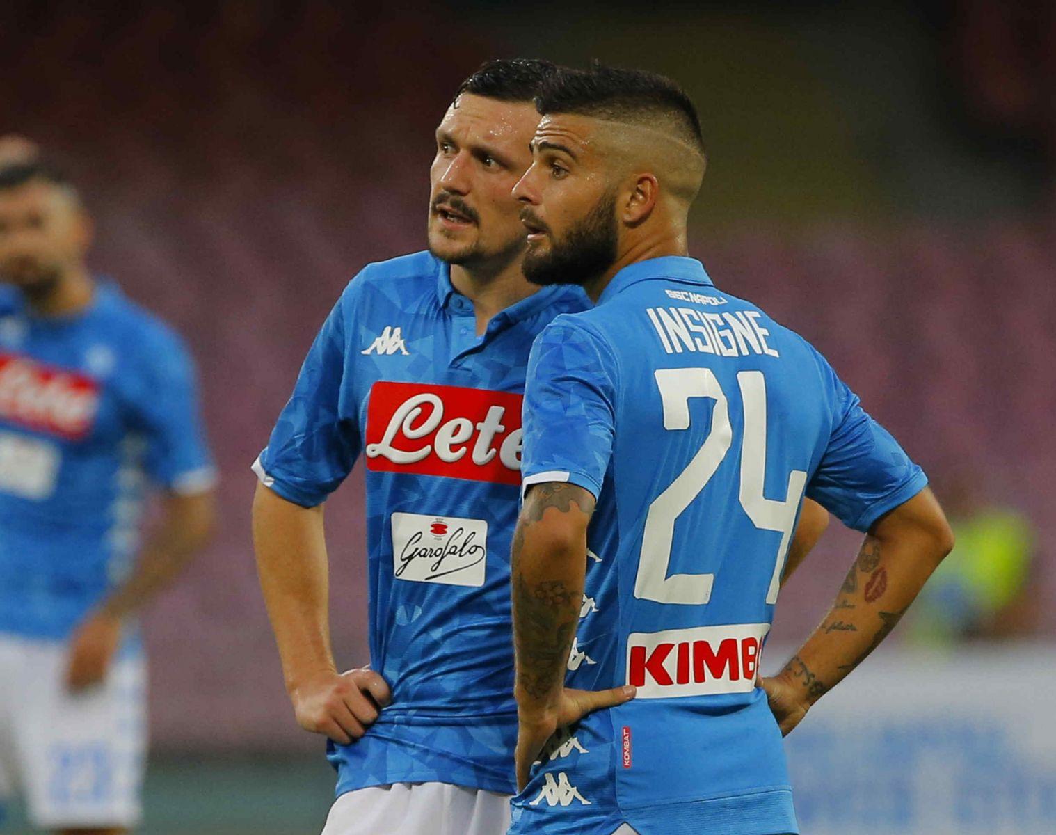 Mario Rui e Lorenzo Insigne