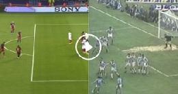 VIDEO - SportMediaset azzarda: Messi come Maradona, punizione alla Diego con la Juve